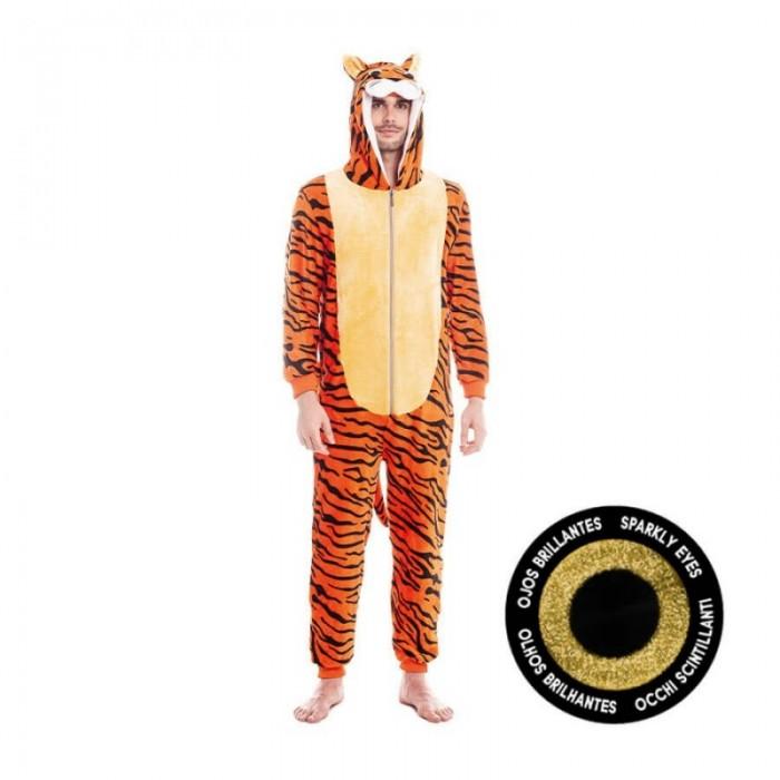 Disfraz Tigre Rayado Adulto Carnaval