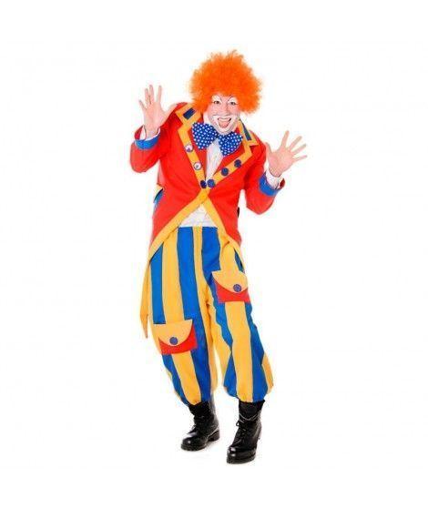 Disfraz Payaso con frac hombre adulto para Carnaval