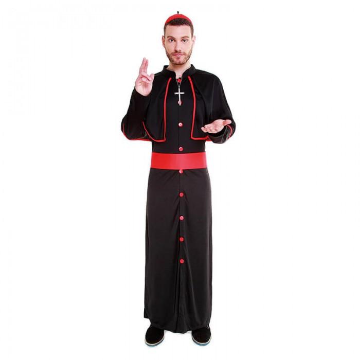 Disfraz Cardenal Clérigo Hombre Carnaval