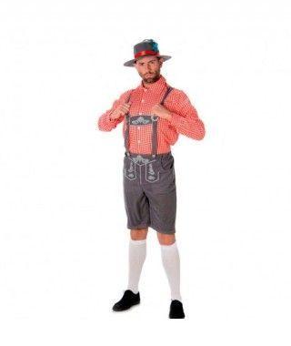 Disfraz Tirolés hombre adulto para Carnaval