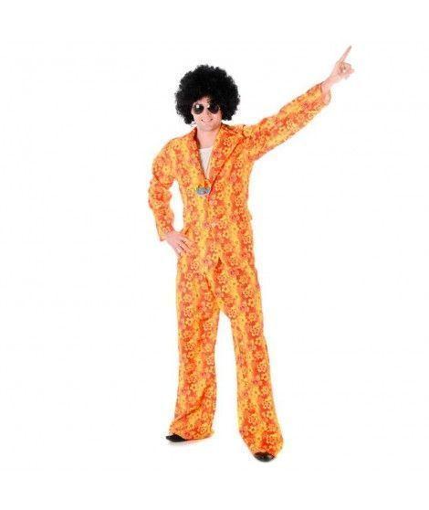 Disfraz Hippie Disco hombre adulto para Carnaval