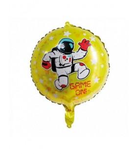 Globo Fiesta Astronauta Espacial Redondo Mylar