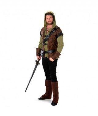Disfraz Robin Hood hombre adulto para Carnaval