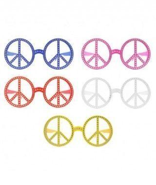 Gafas Hippie Paz de fiesta