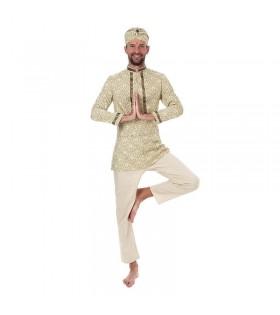 Disfraz Hindú Hombre Fakir Turbante Bollywood Carnaval