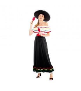 Disfraz Mexicana Mujer...