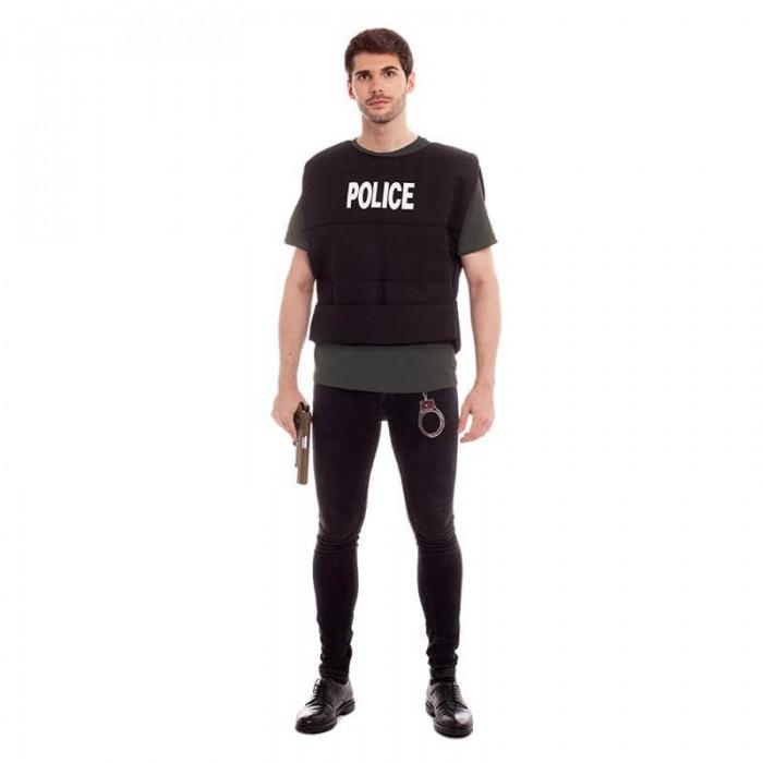 Chaleco Policía Adultos Disfraces Profesiones