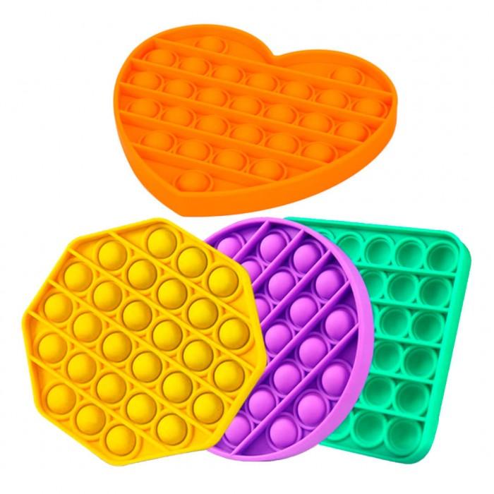 Juguetes Antiestrés Sensorial Pop It Niños Adultos Juego Push Pop Bubble Formas