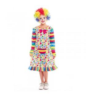 Disfraz Payasa Niña Clown...