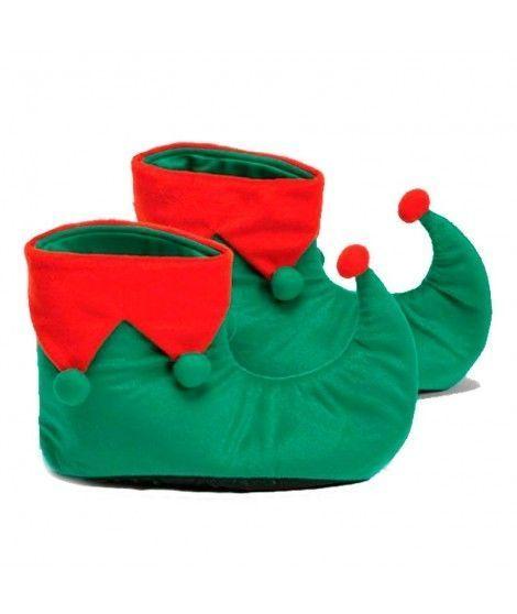 Botas de Elfo Duende adulto para Navidad
