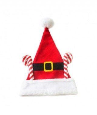 Gorro Papá Noel Bastón Caramelo