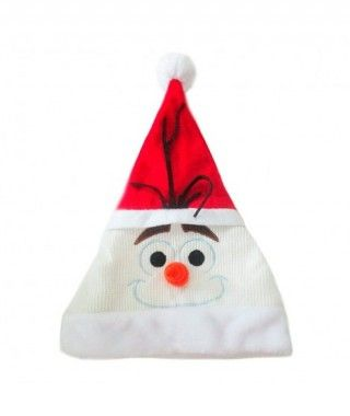 Gorro Navidad Papá Noel Muñeco Nieve Olaf