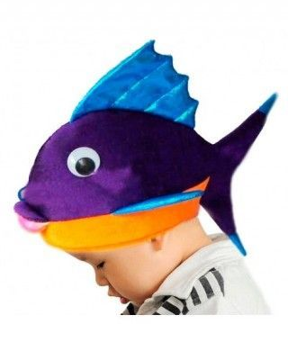 Gorro Pez Tropical Foam