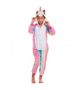 Pijama Unicornio Arco Iris Niña