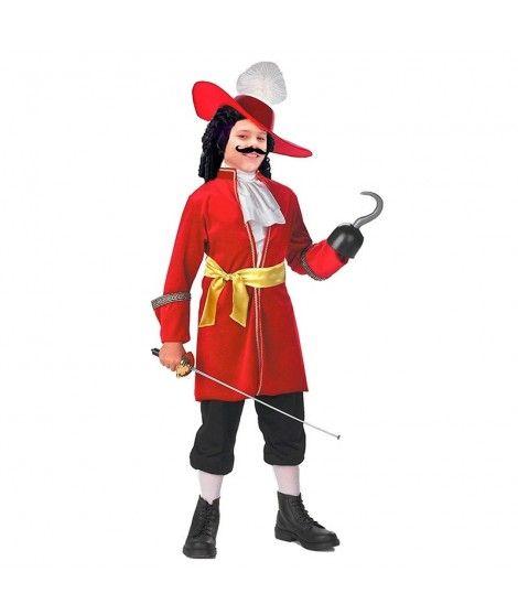 Disfraz Capitán Hook niño infantil para Carnaval