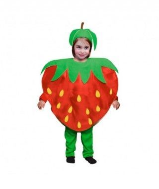 Disfraz Fresa infantil para Carnaval