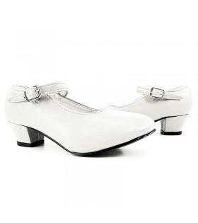 Zapatos de Sevillana Adulto blancos
