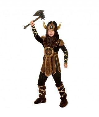 Disfraz Vikingo niño infantil para Carnaval