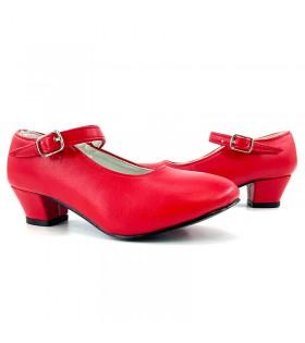 Zapatos de Sevillana Adulto rojos