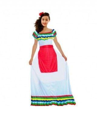 Disfraz Mejicana niña infantil para Carnaval