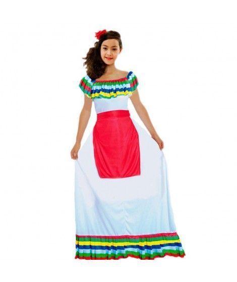 3b4960096be52 Disfraz Mejicana niña infantil para Carnaval