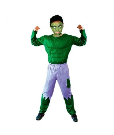 Disfraz de Monstruo Verde niño infantil para Carnaval