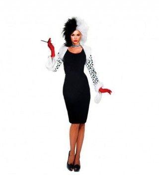 Disfraz de Villana Cruel mujer adulto