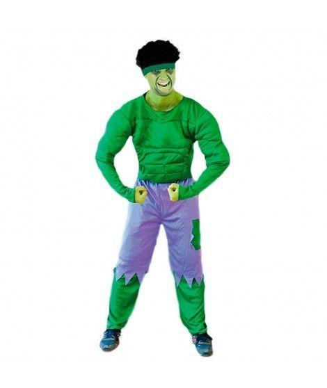 Disfraz de Monstruo Verde hombre adulto