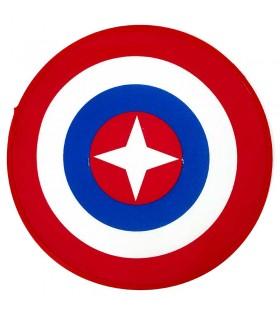 Escudo de Superhéroe Estrella de Tela 40 x 40 cm. Disfraces Superhéores