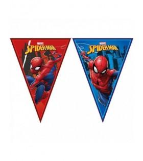 Banderines Guirnalda Spiderman Cumpleaños [2