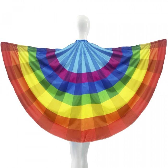Capa Arco Iris Orgullo Rainbow Talla Adulto