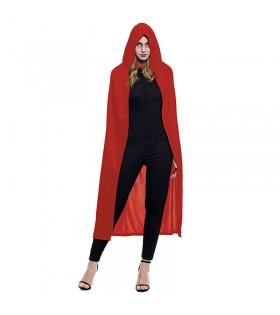 Capa con Capucha Roja 140 cm