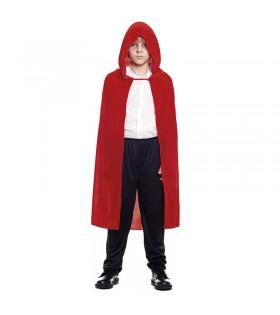 Capa Roja Terciopelo 90 cm