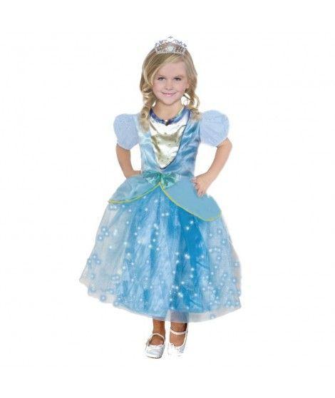 Disfraz Princesa Azul niña infantil para Carnaval