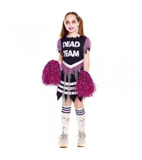 Disfraz Animadora Zombie Niña
