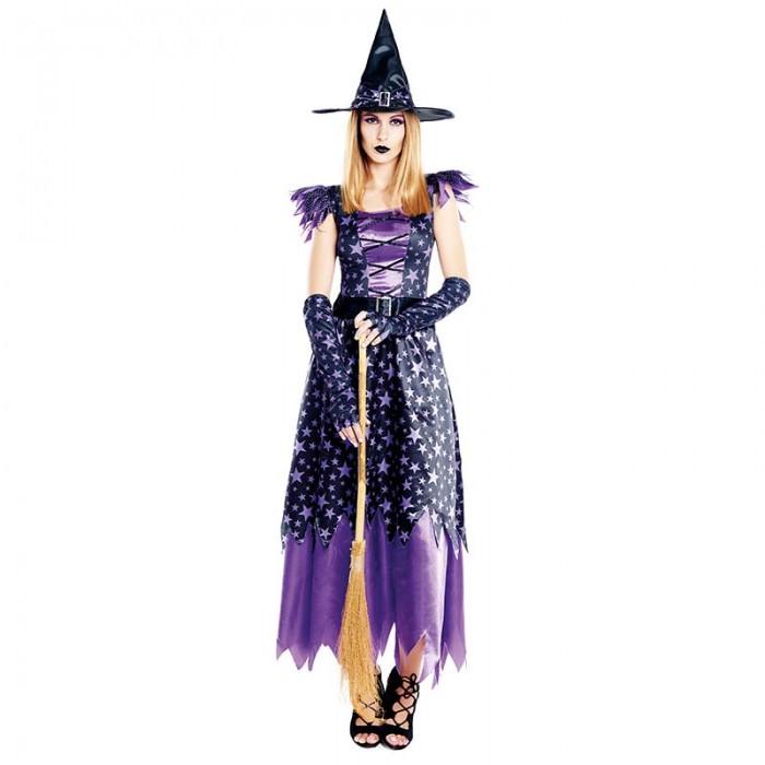 Disfraz Bruja Stars Mujer