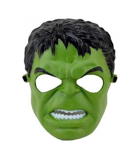 Máscara Héroe Monstruo Verde Infantil Accesorio Carnaval