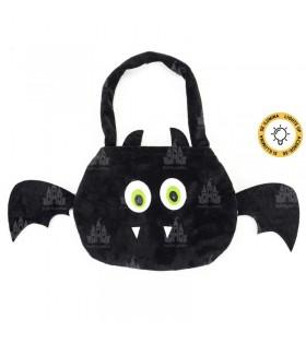 Bolsa para Chuches de Halloween Murciélago con Luz