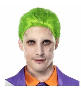 Peluca Joker Verde Bufón