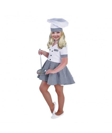 Disfraz Cocinera niña infantil