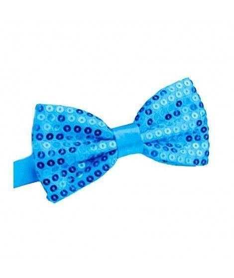 Pajarita lentejuelas Azul Turquesa...