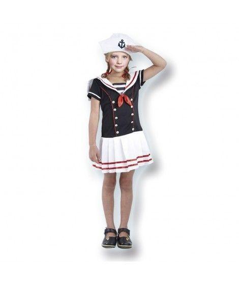 Disfraz Marinera niña Infantil para Carnaval