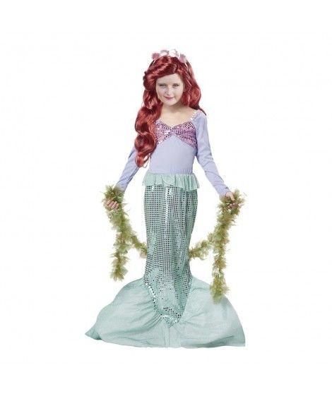 Disfraz Sirenita niña infantil para Carnaval