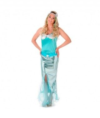 Disfraz Sirena mujer adulto...