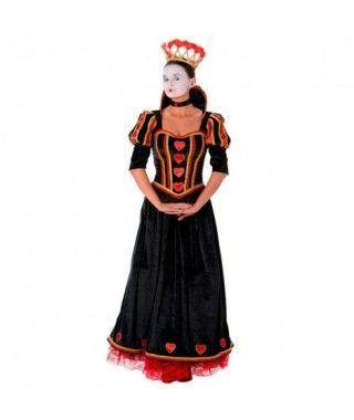 Disfraz Reina de Corazones mujer adulto para Carnaval