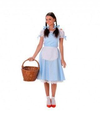 Disfraz de Dorothy Mago de Oz mujer adulto para Carnaval