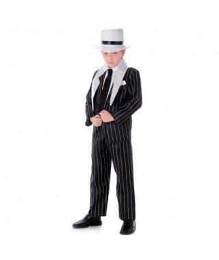 Disfraz Jefe Gángster niño infantil para Carnaval