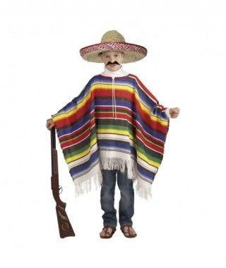 Disfraz Mejicano niño infantil para Carnaval