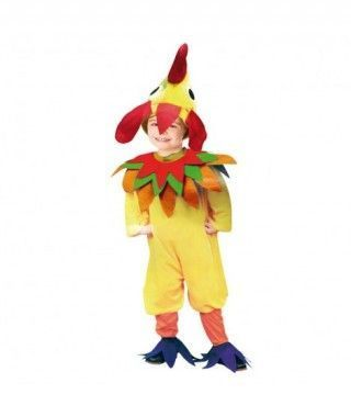 Disfraz de Gallo niño infantil para Carnaval