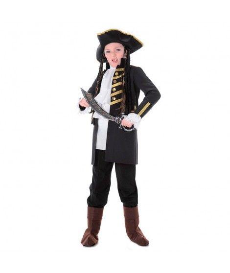 Disfraz Pirata Negro niño infantil...